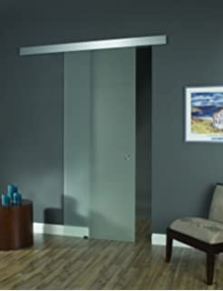 Fine Modern Glass Barn Doors Pinecroft Opaque Interior Door F For Decor