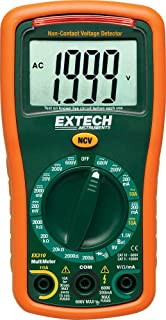 Extech EX310 Manual Ranging Mini Multimeter with Battery Test Function