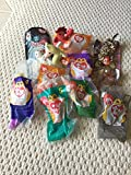 Lot of 10 TY Teenie Beanie Babies All Different Animals -Great for Party Favors and Gifts.