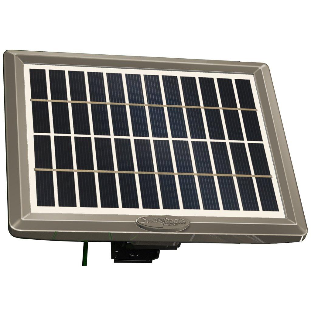 Cuddeback CuddePower Solar Kit Black by Cuddeback