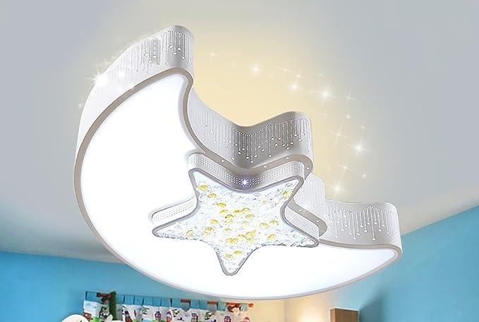Plafoniera Camera Ragazzi : Nauy camera da letto per bambini semplice plafoniera creative star