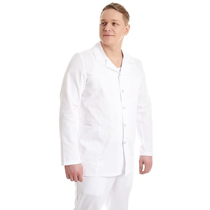Vest Albus Bata Laboratorio Ropa de Trabajo Sanitario ...