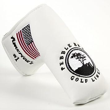 Fltrade - Funda para cabeza de putter de hoja (palo de golf ...