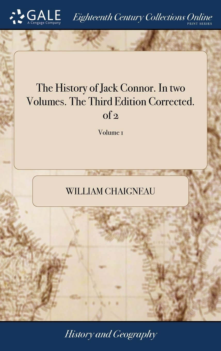 The History of Jack Connor. in Two Volum: