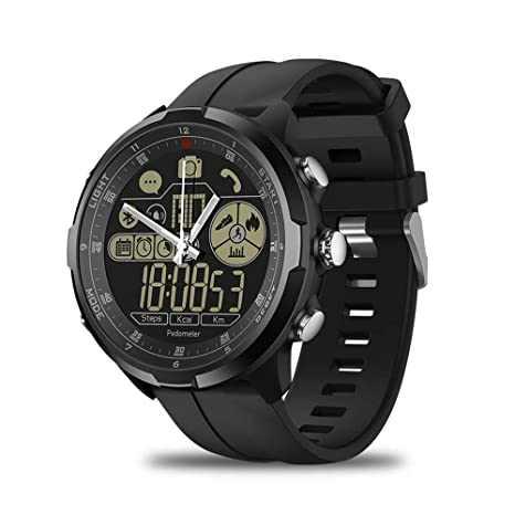 Amazon.com : Zeblaze Vibe 4 Hybrid Smart Watch - [ 2019 New ...
