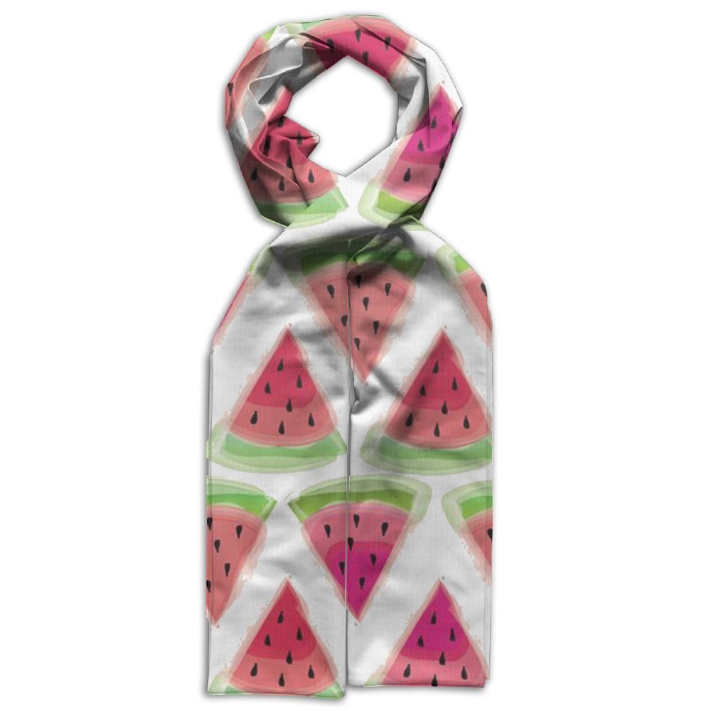 DGYEG44 Watermelon Printing Scarf Kids Warm Soft Fashion Scarf Shawl For Autumn Winter