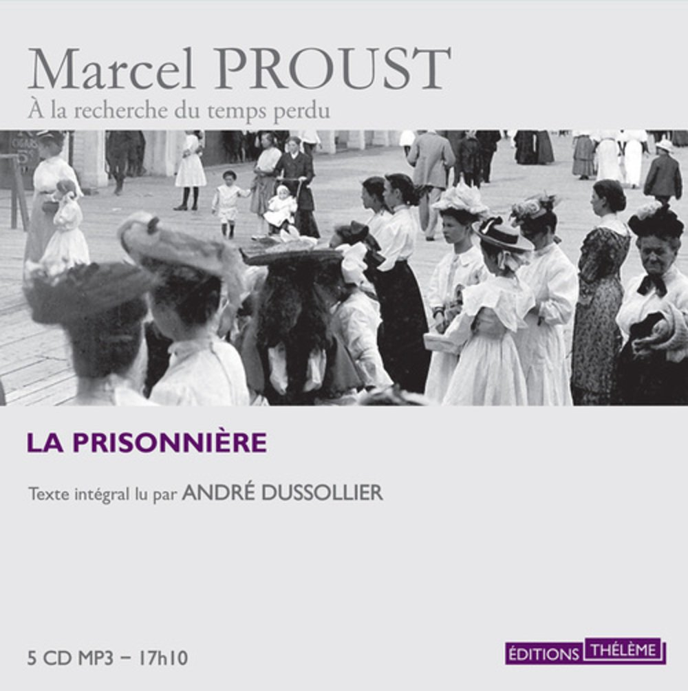 La Prisonnière (French Edition) SET OF 5 AUDIO CD MP3 by French and European Publications Inc
