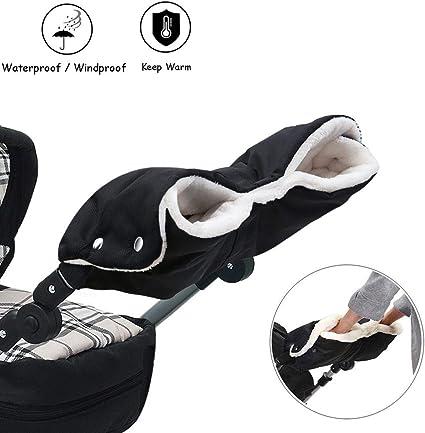 Baby Pram Stroller Warmer Gloves Pushchair Hand Winter Muff Waterproof C