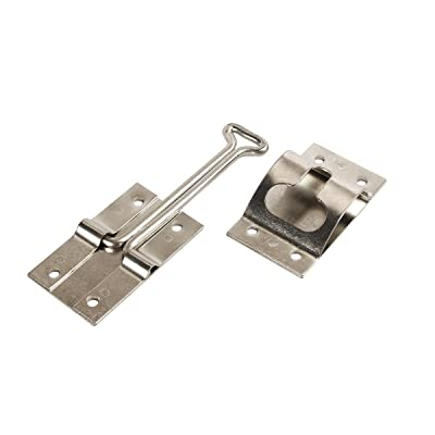 RV Designer E217, Entry Door Holder T Style, Zinc, 4 inch, Entry Door Hardware: Automotive
