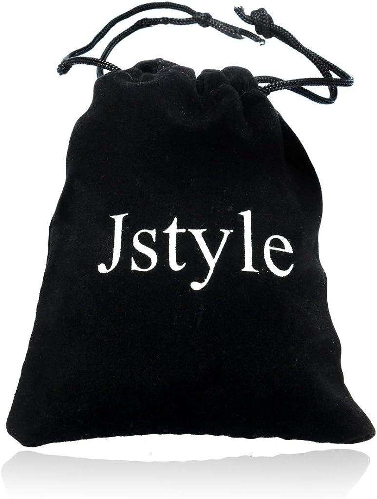 Jstyle Bijoux 2 Pi/èces Collier Femme//Homme Pendentif Yin Yang pour Couples Les Amoureux Meilleure Amie 56 cm