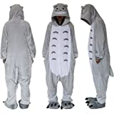 Outdoor Top Polar Fleece Totoro Unisex Onesie Cosplay Costume Hoodies  Pyjamas Sleep… f6885892b
