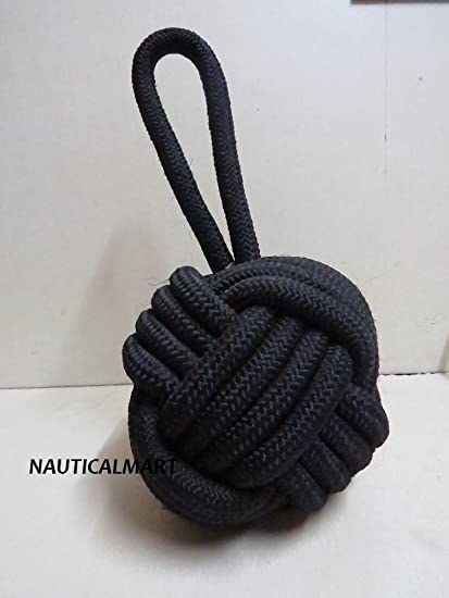 Nautical Knot Door Stopper Ivory
