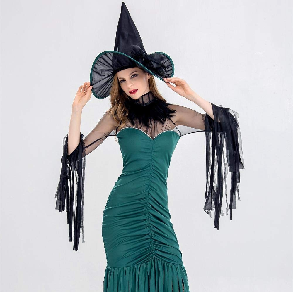L Olydmsky Halloween Costumes Women Halloween Witch Costume Women's Masquerade Costume
