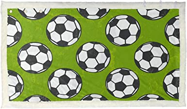 Football Soccer Blanket Throw Couch Poncho Cape Shawl Wrap Accessories Women  Men at Amazon Women's Clothing store