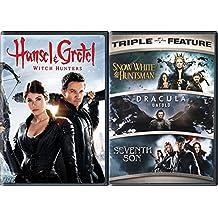 Modern Fantasy Adventure Pack - Snow White & The Huntsman / Hansel & Gretel: Witch Hunters / Dracula Untold / Seventh Son Movie Bundle 4 Feature Films