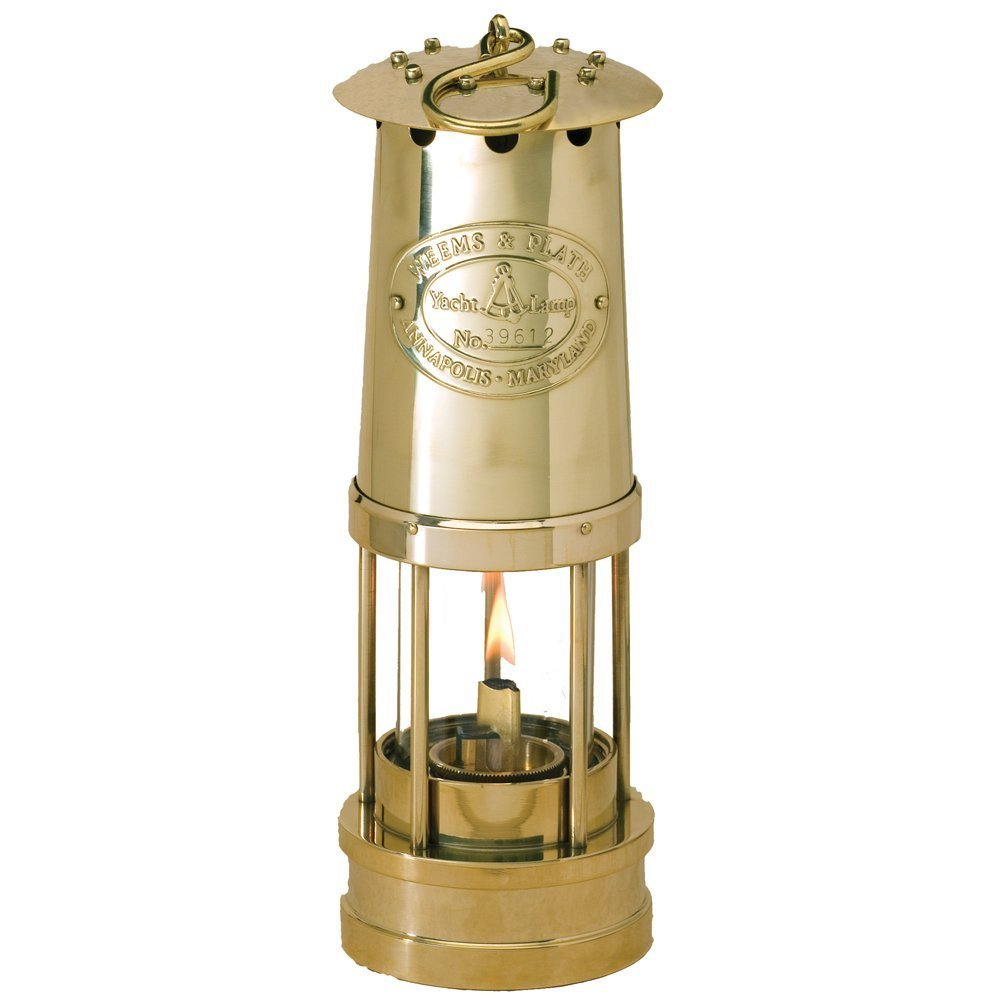Weems & Plath Yacht Oil Lamp (Brass) by Weems & Plath