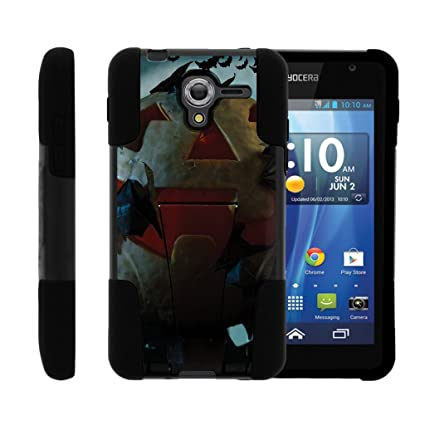 Hydro View Case, Kyocera Hydro Reach Case| High Impact Silicone Gel and PC Combo