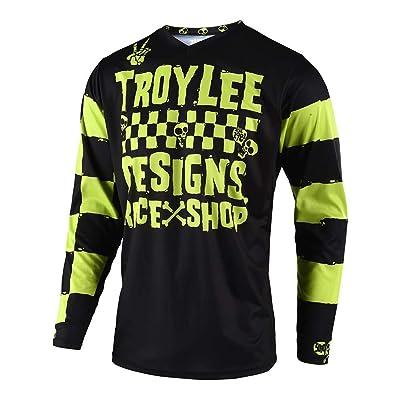 Troy Lee Designs Off Road Motocross GP Race Shop 5000 Jersey (Lime, Medium): Automotive