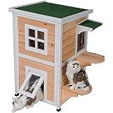 Amazon.com: Tobbi - Caseta para perro, para exterior, para ...