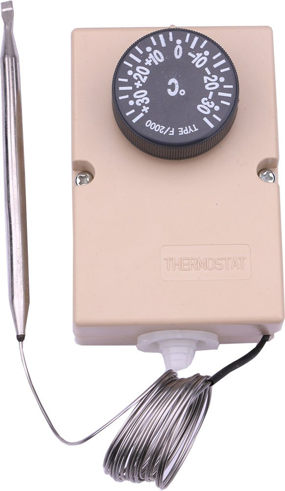 Yeeco Mechanical thermostat Temperature Control Temp 110V 220V Temperature Control Gauge for Refrigerator