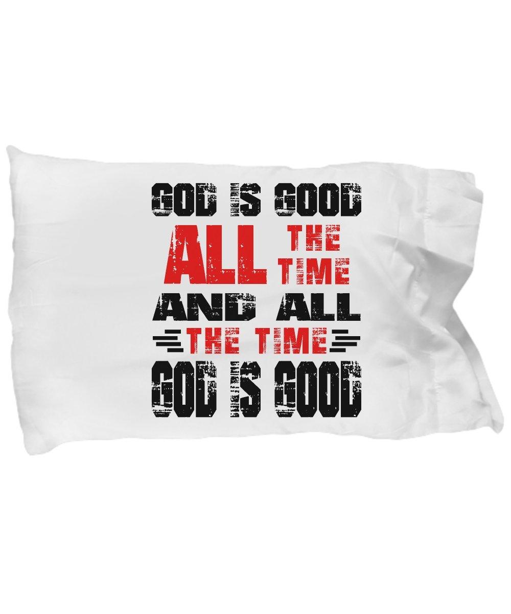 Funny Novelty Gift For Christian God is Good All the Time and All The Time God is Good Best Jesus, Christ, Christian Pillow Case