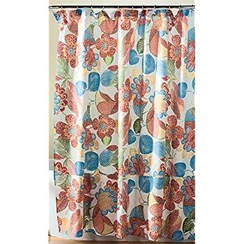 Amazon.com: Lush Decor Layla Shower Curtain, 72 x 72\