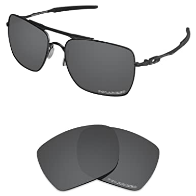 0000ef0b19d Tintart Performance Lenses Compatible with Oakley Deviation Polarized Etched -Carbon Black