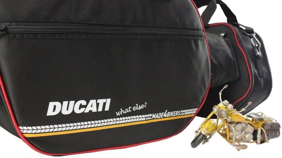 made4bikers Promotion: Bolsas Interiores Adecuado para de los Modelos Ducati Multistrada 1200 a Partir de 2015/1260 y 950 a Partir de 2017