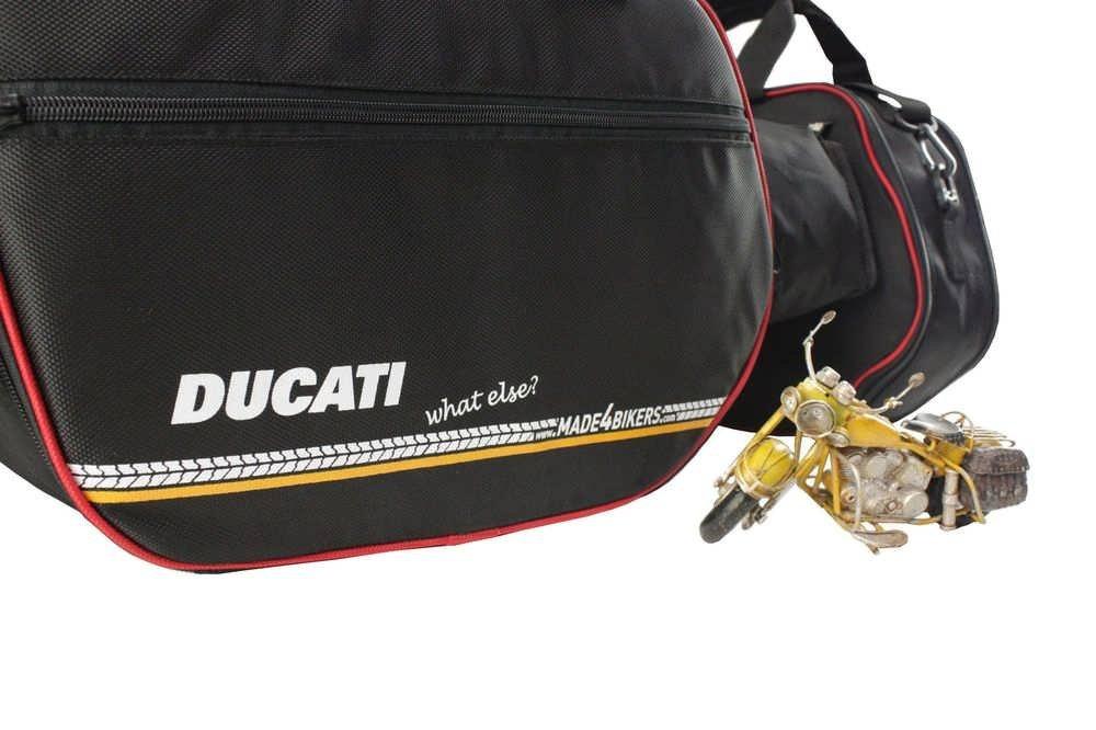 m4b Promotion: Ducati Multistrada 1200 à partir de 2015 / / Multistrada 950 à partir de 2017: Poches intérieures / sacs intérieurs pour valises latérales CHB-IuV