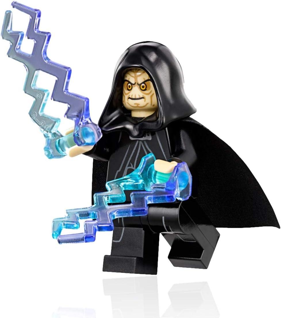 Lego Star Wars Emperor Palpatine Minifigure Exclusive 75093