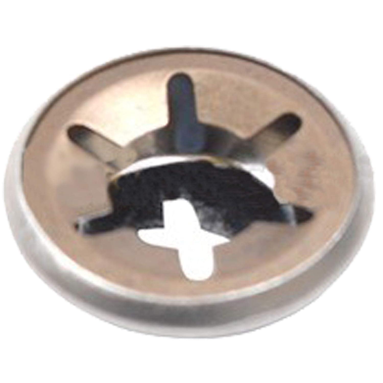 Spares2go Tapón de extremo de rueda para cortacésped Bosch ...