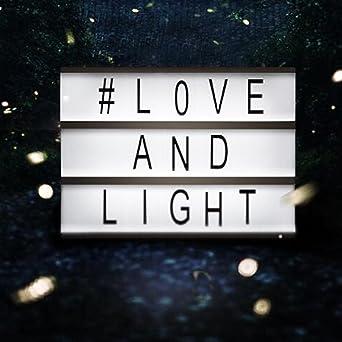 Gestalt Bar LED Cine ligero Caja ~ Leuchten su vida ~ película ischen Luz de caja ~ Bombilla Buzón con letras flexibles (A6): Amazon.es: Iluminación