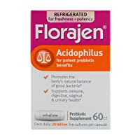 Florajen Acidophilus High Potency Refrigerated Probiotics | Supports Overall Health...