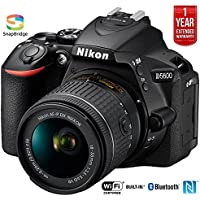 Nikon D5600 Digital SLR Camera & 18-55mm VR DX AF-P Lens - (Certified Refurbished)
