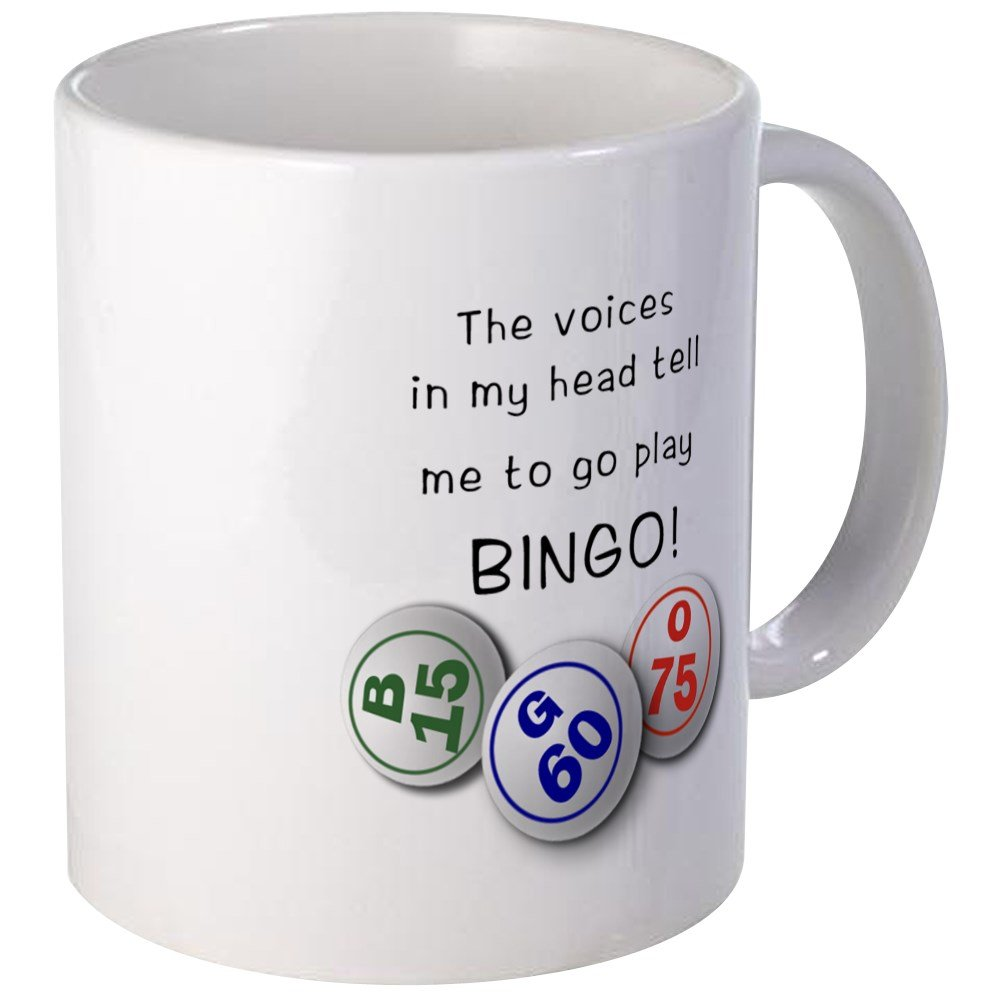 CafePress - Bingo-Game-Mug-02 Mugs - Unique Coffee Mug, Coffee Cup by CafePress