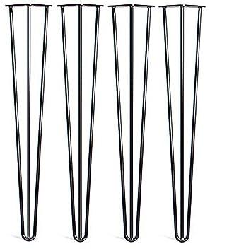 Locisne 4 Pack Heavy Duty Haarnadel Tisch Beine-Superior Weld Pulver ...