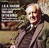 J.R.R. Tolkien Reads and Sings His The Lord of the Rings. The Two Towers. The Return of the King. 1975. 33 1/3 RPM LP record in sleeve.