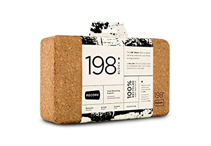 ReCORK 198 Yoga Block Natural, One Size