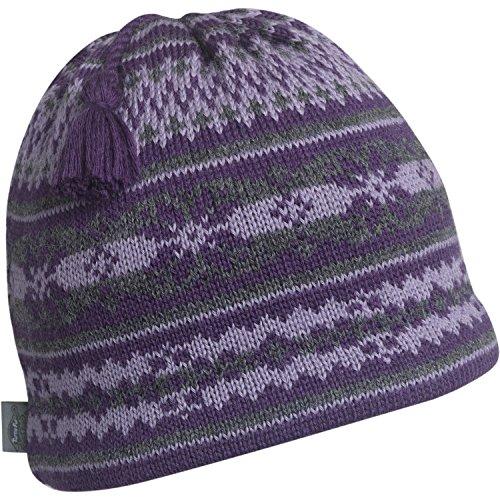 Turtle Fur Tassel (Turtle Fur Nighthorse Classic Wool Knit Ski Tassel Beanie Aubergine)