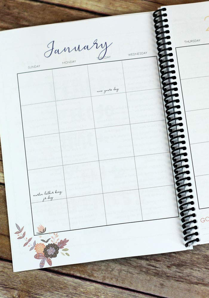 2019 Healthy Habits Self Care Planner Spiralbound