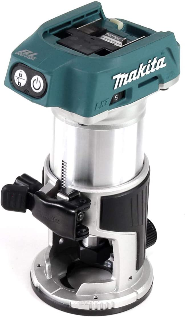 Makita drt50z bater/ía de Multifunci/ón Fresadora 18,0/V