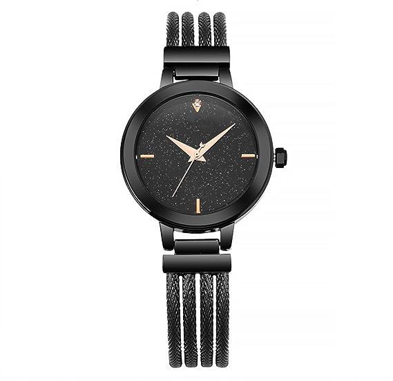 Reloj para mujer Reloj para mujer de nueva moda Reloj para mujer de acero resistente al