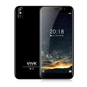 Vasea Smartphone Libres,Teléfono Inteligente R8 5.72 Pulgadas Dual Sim Económico, Pantalla IPS HD +, Cámara Real De 8MP / 5MP Y ROM Quad Core De 16GB, ...