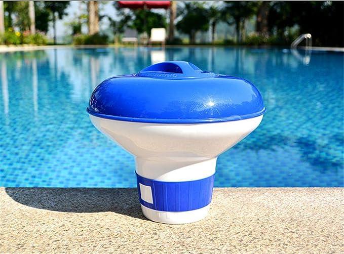 Nicole Knupfer - Flotador dosificador de cloro para piscinas: Amazon.es: Jardín