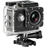 """SJCam SJ4000 WiFi - Videocámara deportiva (LCD 2"""", 1080p, 30 fps, sumergible hasta 30 m) color negro, - [Versión español…"""