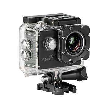 """SJCam SJ4000 WiFi - Videocámara deportiva (LCD 2"""", 1080p, 30 fps"""