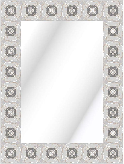 80 x 60 cm CustomGlass Espejo Pared Decorado Modelo Mohlin
