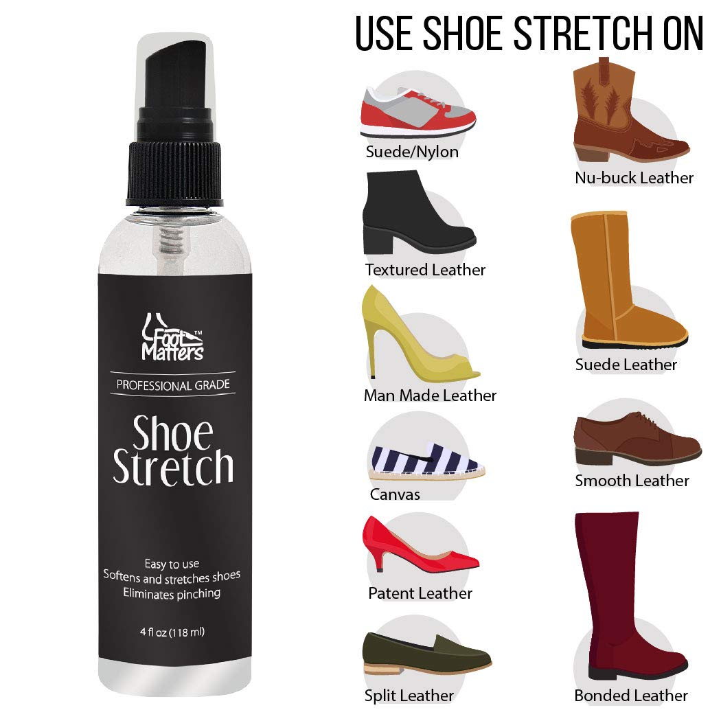How to stretch leather shoes