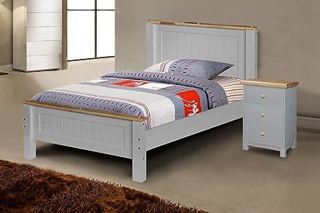 Strutture Letto In Legno Massello : Struttura letto legno letto contenitore legno massello ennerev