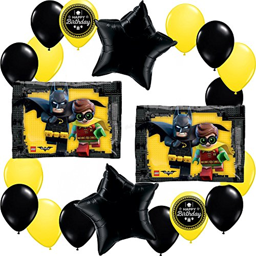 Lego Batman Movie Deluxe Balloon Decorating Bundle AMZKIT711
